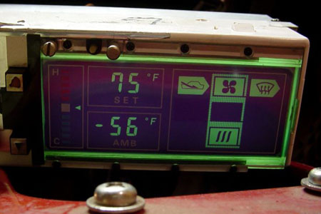 XenonZcar com - Z31 Digital Dash and Climate Control Lighting Color