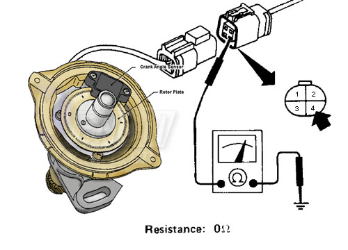 measure resistance to ground on pin #4  it should measure 0 ohm  if not you  have a bad ground in the circuit  fix or replace harness