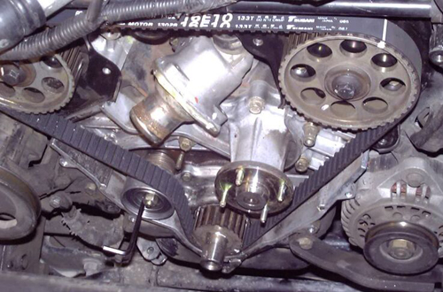 what it looks like on the real motor