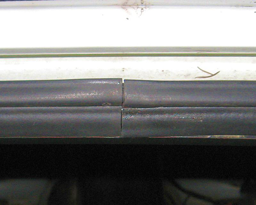 XenonZcar.com - Z31 Repairing the hatch seal that leaks